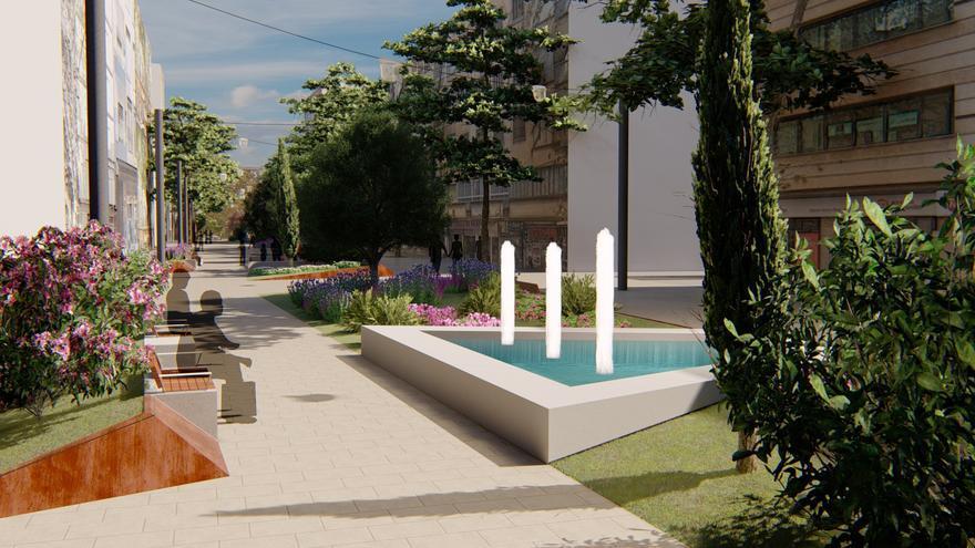 Palma, barris renovats i més verds