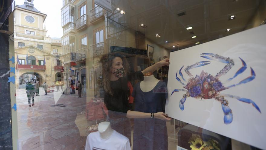 Arte y comercio se unen en la calle Magdalena para salir adelante