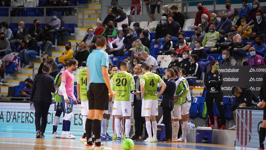 Los aficionados pueden volver al pabellón de son Moix para ver al Palma Futsal
