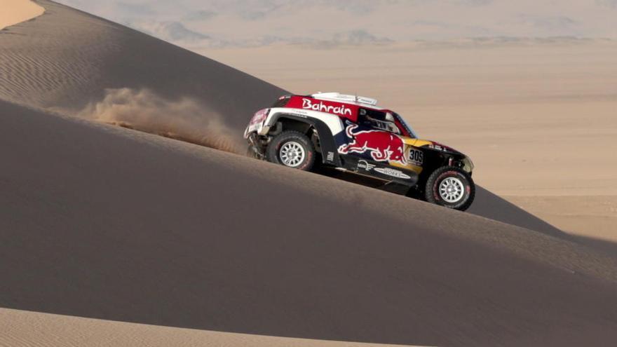 El tercer Dakar de Carlos Sainz