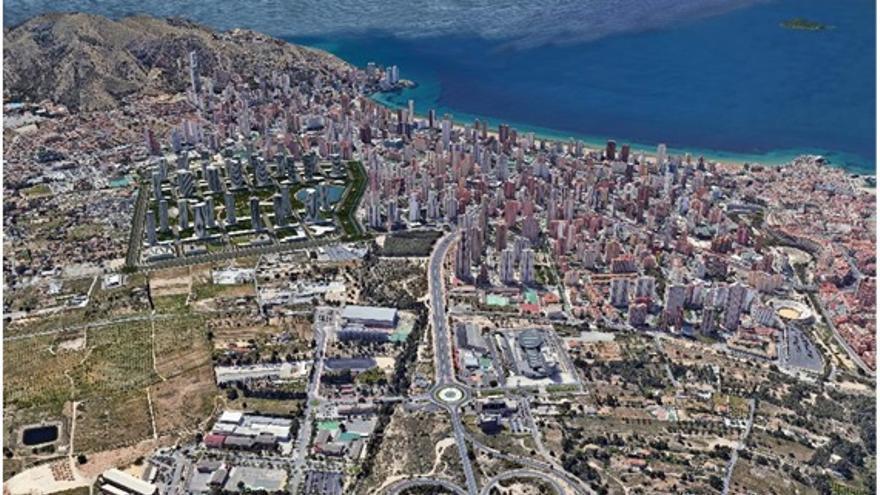 El Consorcio de Aguas asegura los recursos para las nuevas edificaciones del Ensanche Levante
