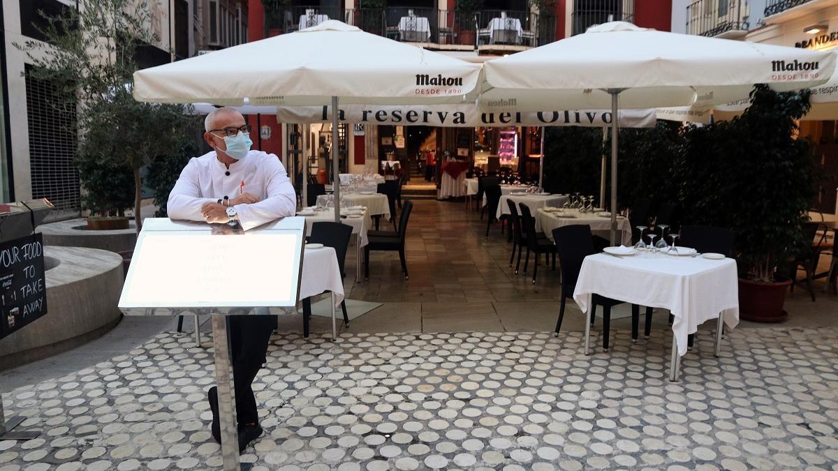 Un negocio de hostelería en Málaga.