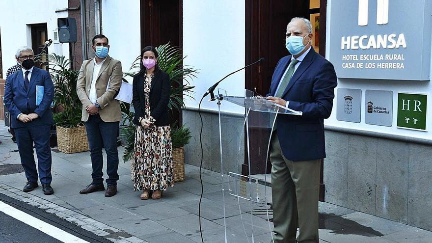La Isla amplía su oferta con el Hotel Escuela Casa Los Herrera