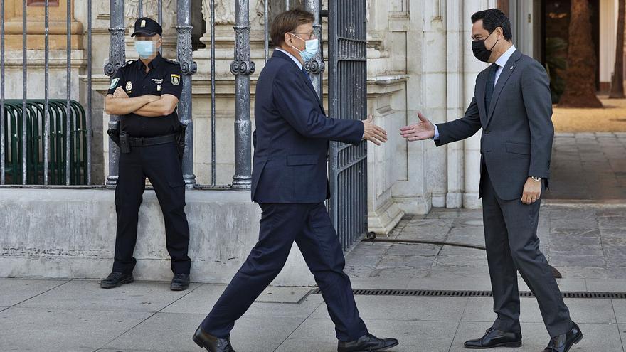 Puig y Bonilla se alían contra la infrafinanciación mientras crece  la tensión en  el Consell