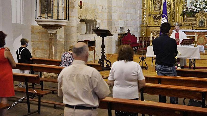 Arranca el novenario de la Virgen del Carmen de San Isidoro en Zamora