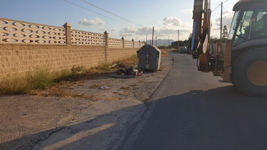 San Vicente recoge en julio más de 16 toneladas de vertidos incontrolados