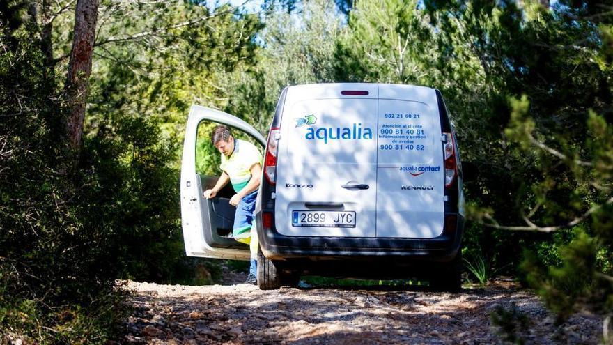 Una avería obliga a abastecer con agua de pozo a cerca de 1.300 usuarios de Sant Jordi