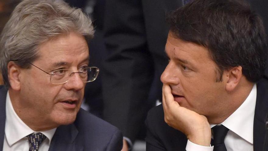 Gentiloni, un hombre fiel a Renzi