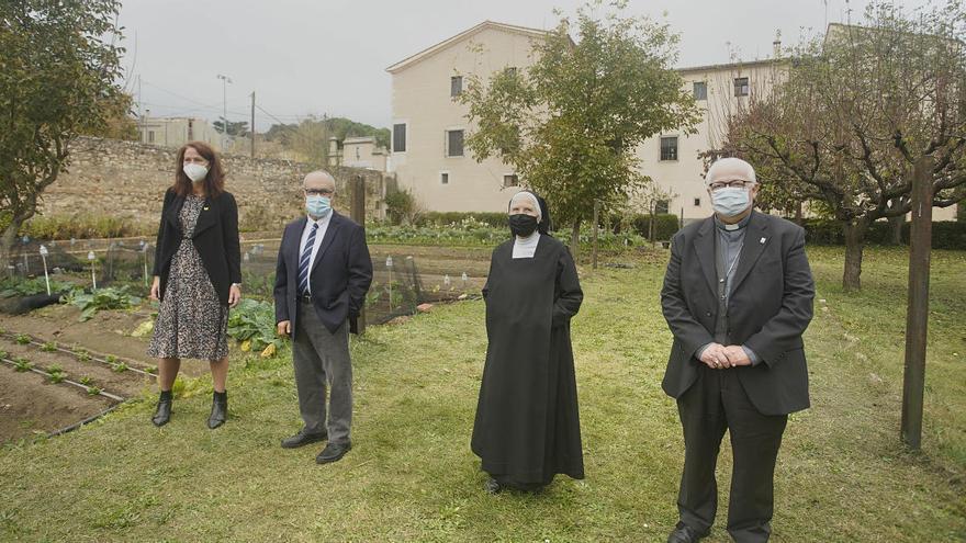 El monestir de Sant Daniel acollirà una residència per a persones amb discapacitat intel·lectual