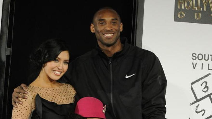 Kobe Bryant i la seva dona tenien el pacte de no volar junts mai