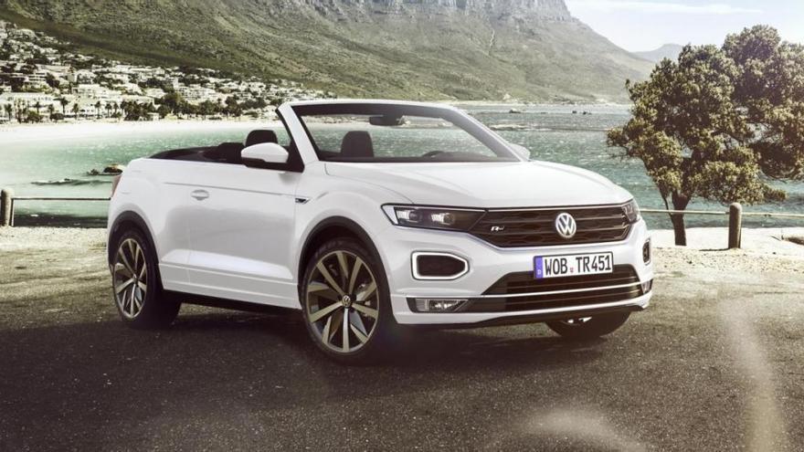 El Volkswagen T-Roc Cabrio 2020 ya está a la venta en España desde 27.750 euros