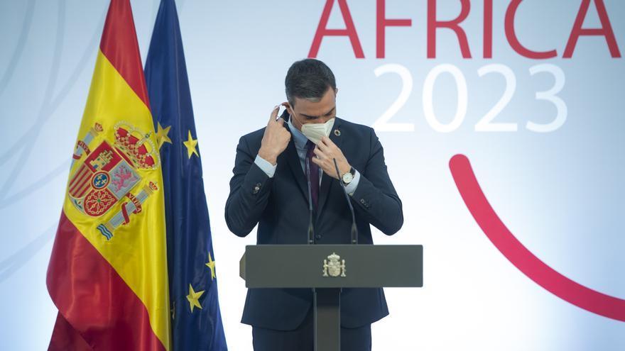 Sánchez presenta el plan Foco África 2023, un punto de inflexión en las relaciones con el continente