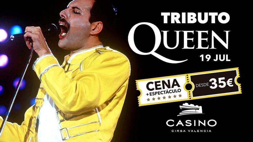 Nuevo tributo a Queen, en Casino Cirsa Valencia
