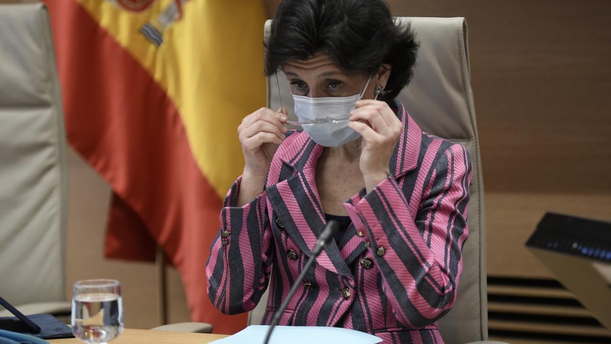 La presidenta del Tribunal de Comptes, María José de la Font i del Carrer.