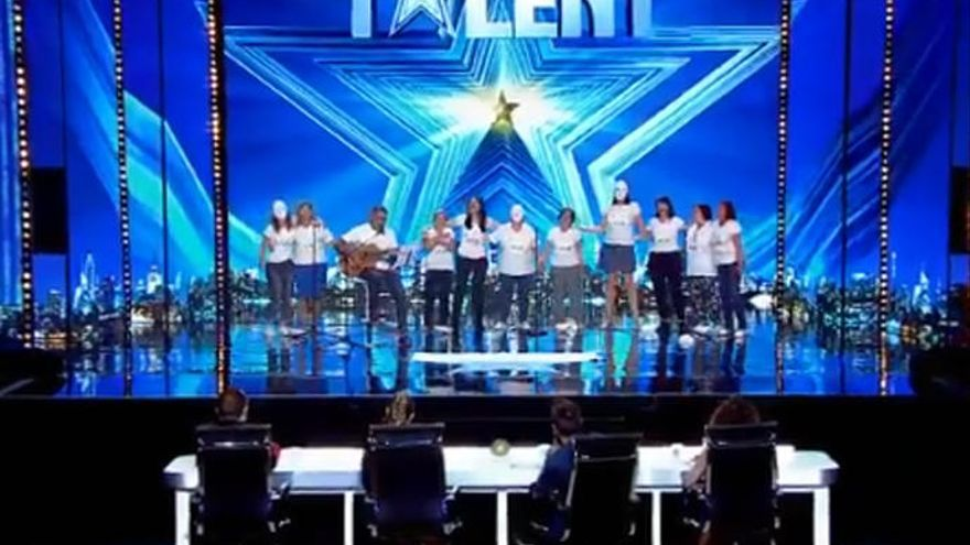 'Got Talent' vive un momento único en la lucha contra la violencia de género