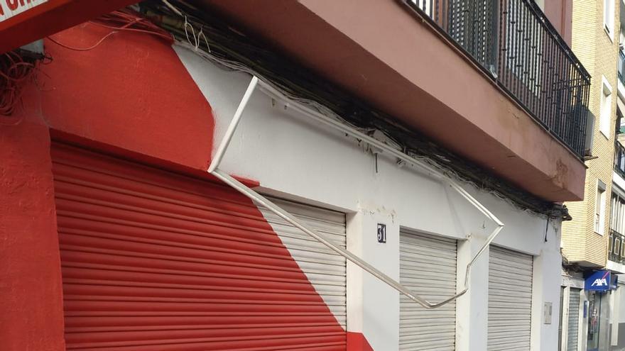 EUPV denuncia un ataque fascista a la sede de Manises