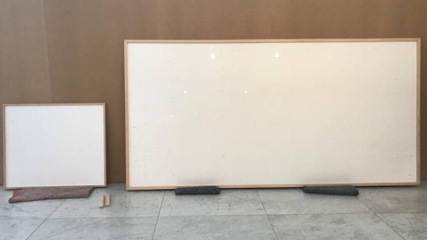 Un artista danés 'estafa' 72.000 euros a un museo al que entregó dos lienzos en blanco