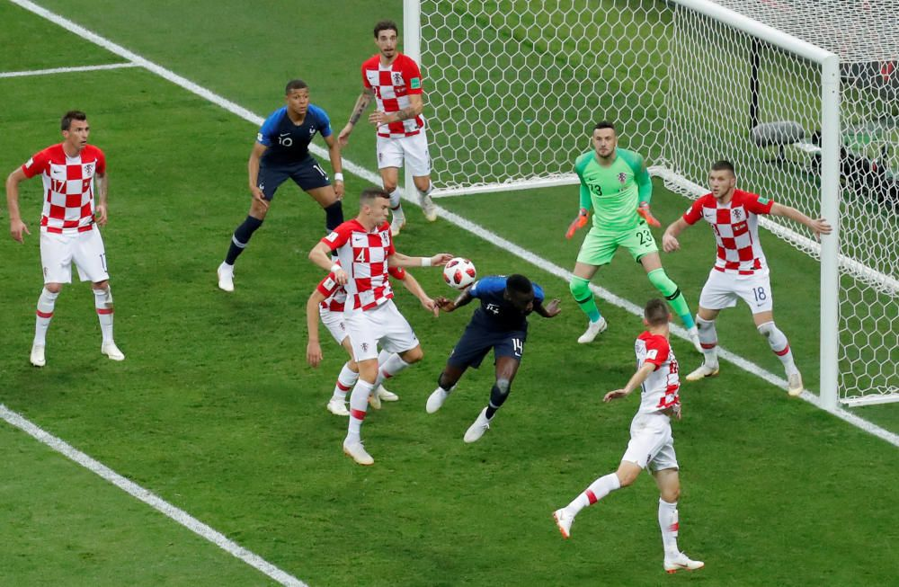 La final del Mundial entre Francia y Croacia