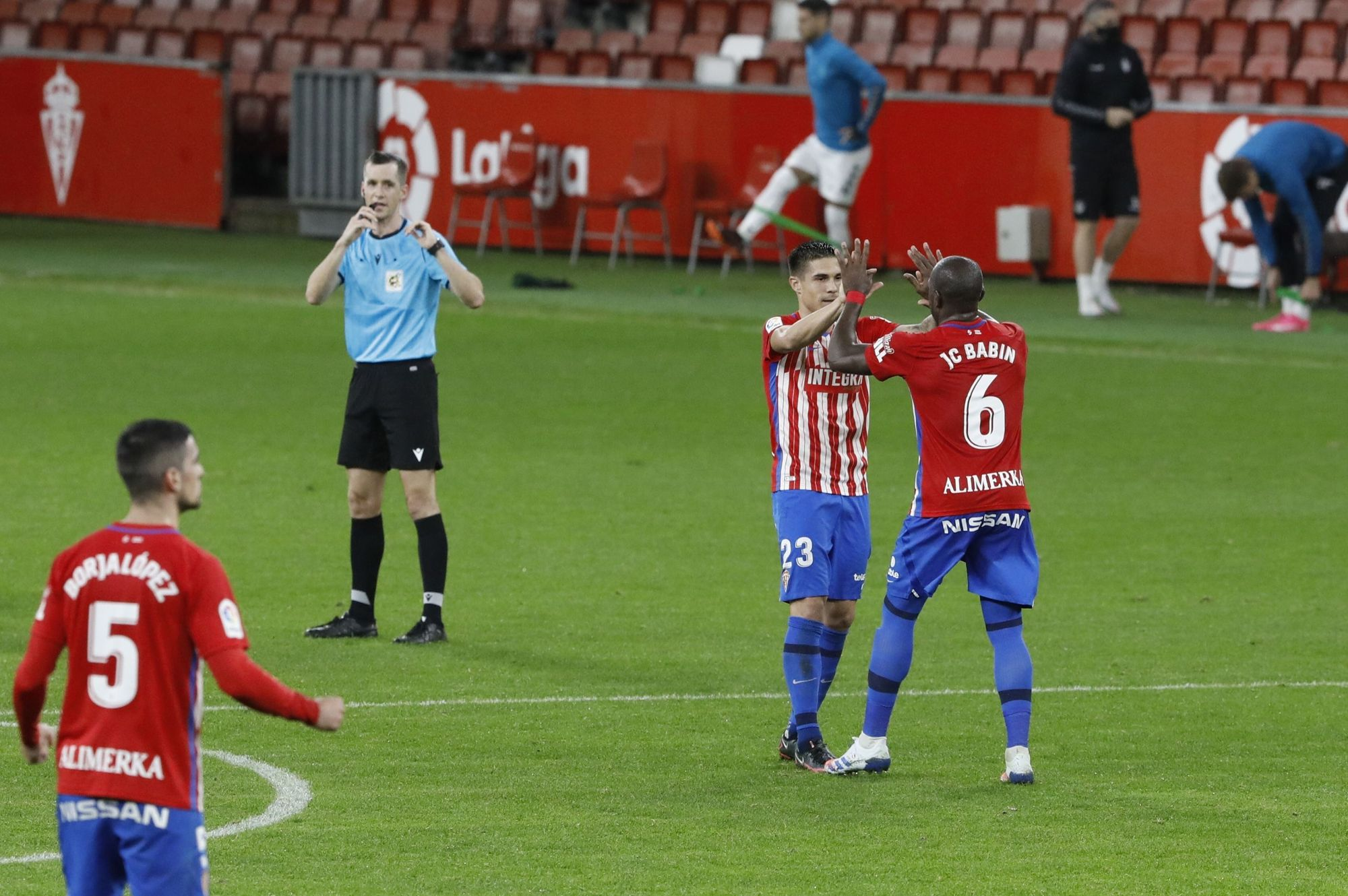El partido del Sporting ante el Castellón, en imágenes