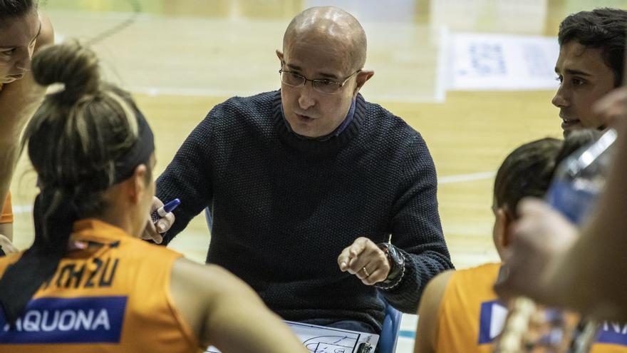 Ángel Fernández, entrenador del Quesos El Pastor
