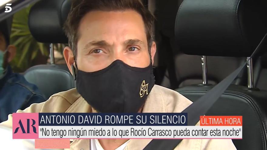 """Antonio David, """"muy tranquilo"""" tras reunirse con su abogado: """"No tengo miedo"""""""