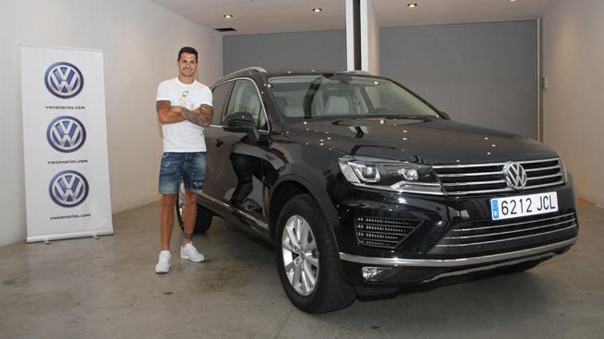 Vitolo, designado embajador de Volkswagen Canarias