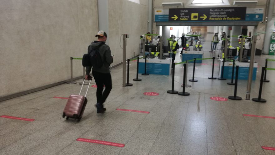 El aeropuerto de Palma recupera la mitad del tráfico de la Semana Santa de 2019