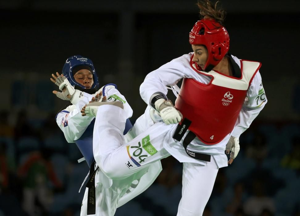 Taekwondo 67kg: Crystal Weekes vs Jackie Galloway