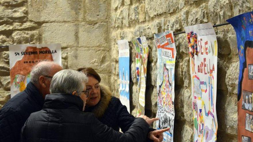 Morella muestra los carteles del Sexenni
