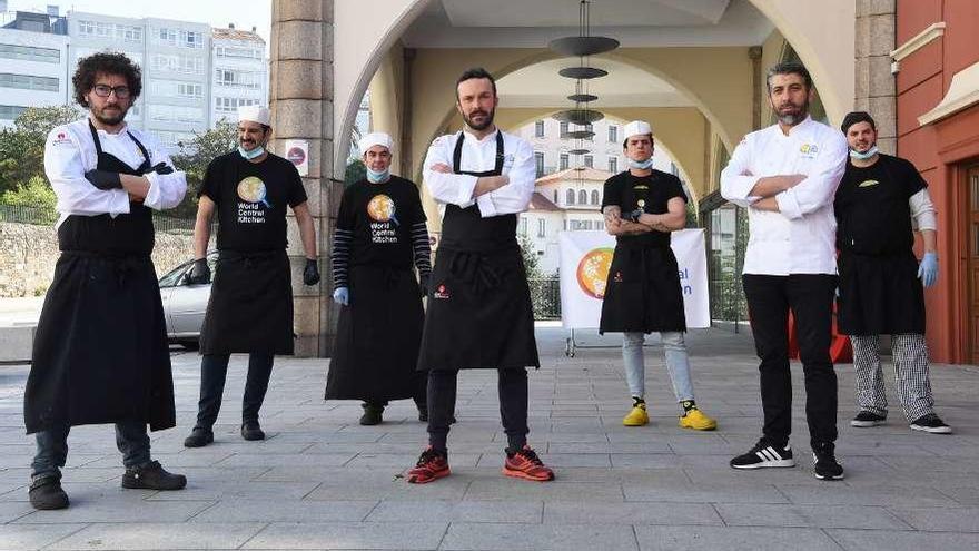 A Coruña se suma a la alta cocina solidaria
