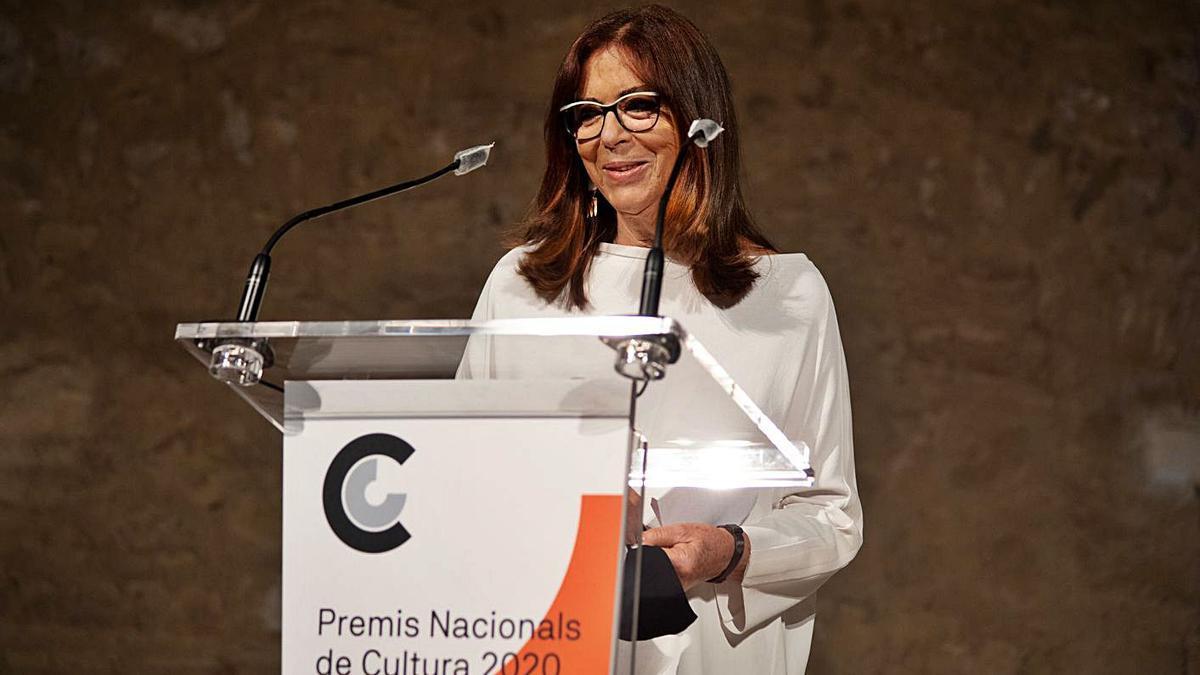Maria del  Mar Bonet en un momento del programa emitido ayer por TV3.