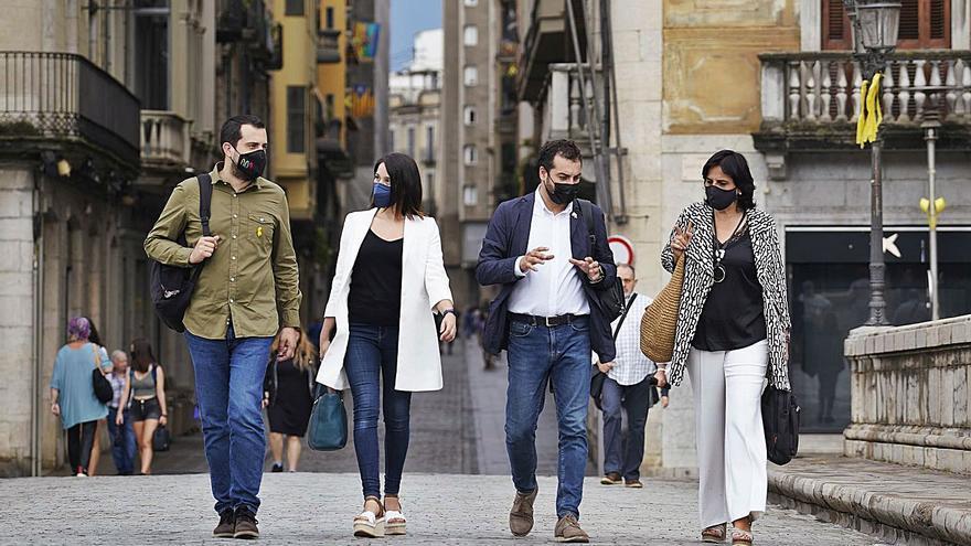 ERC defensa el seu paper per «desencallar projectes» en el primer any al govern de Girona