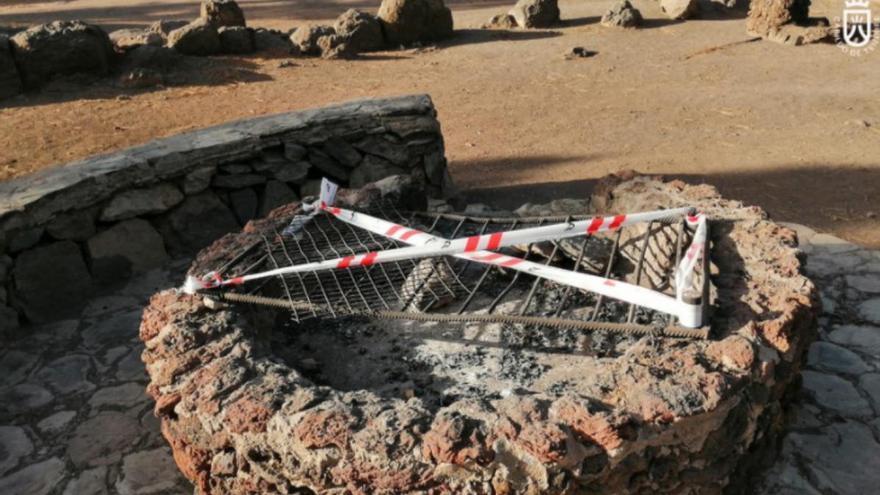 Prohibido hacer fuego en áreas recreativas y quemar rastrojos en Tenerife