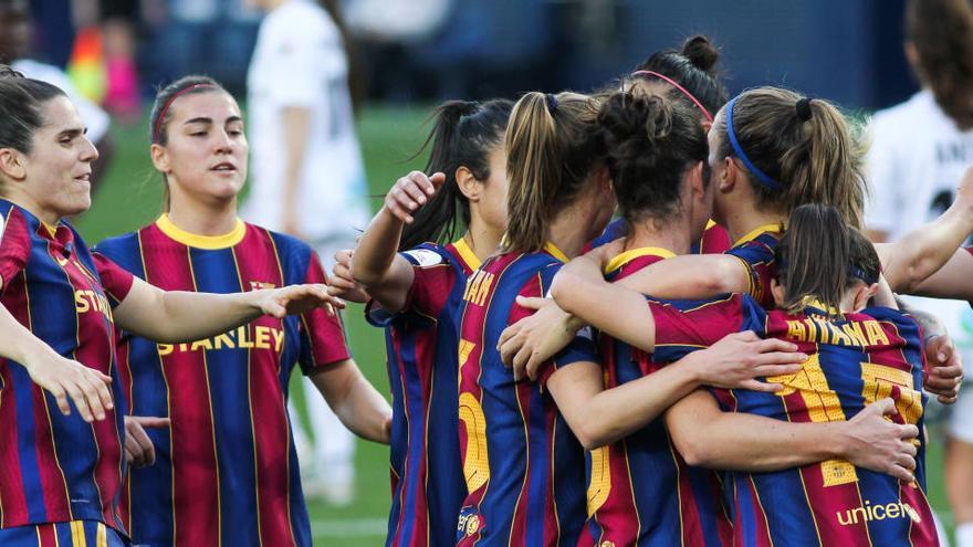 El Barça levanta su séptima copa al vencer al Logroño