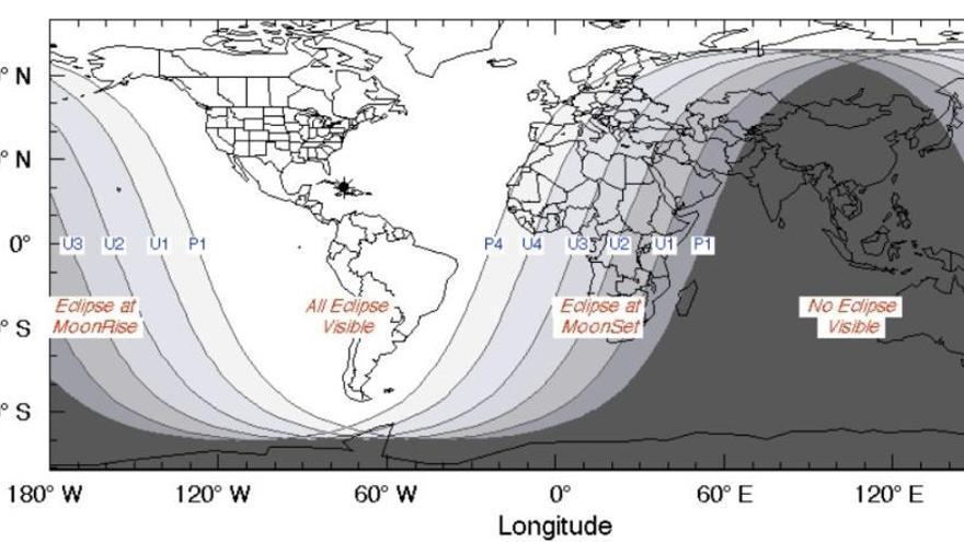 Un eclipse lunar total coincide con la primera superluna de 2019 en enero