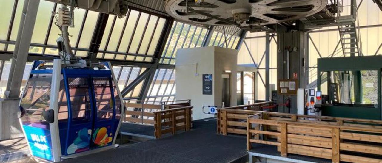 La Vall de Núria posa en servei un ascensor per accedir al Telefèric Coma del Clot