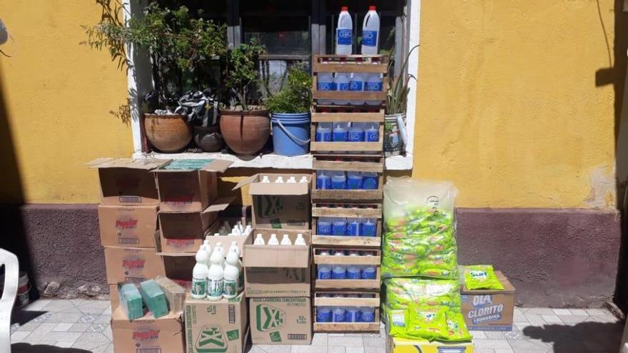 Una asociación ibicenca envía comida y regalos a pueblos de Bolivia