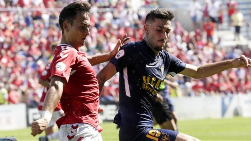 Josema, Kevin García y Marcos Legaz no estarán con el Real Murcia en Don Benito