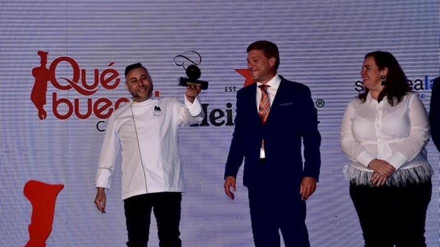 Braulio Rodríguez, mejor chef de Canarias en los Premios ¡Qué Bueno!