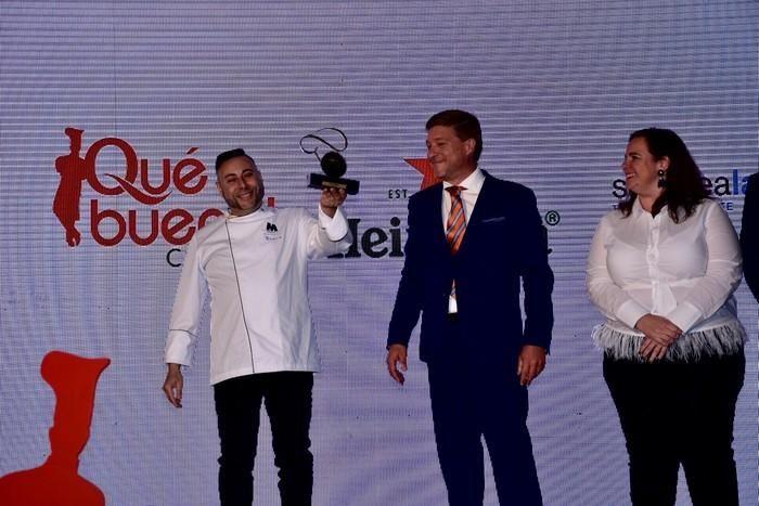 Premio a Mejor Cocinero a Braulio Rodríguez