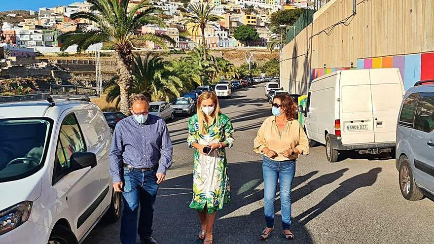 El Ayuntamiento estudia mejoras de la movilidad en el entorno del CEIP Guiniguada