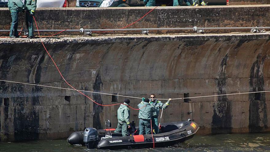 Iberdrola para el bombeo en Ricobayo para facilitar la búsqueda del cadáver en el embalse