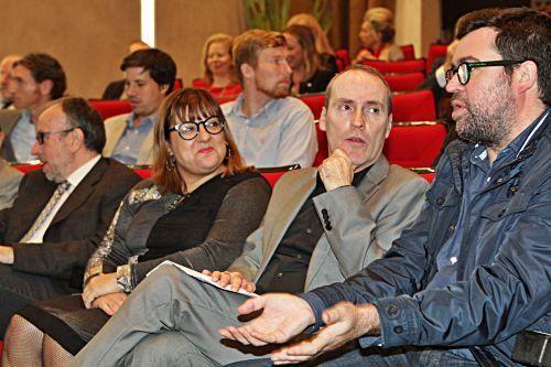 Bel Busquets, Ciro Krauthausen und Antoni Noguera.