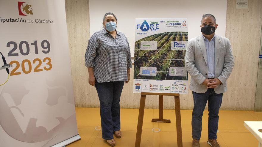 Expofare reúne en Fuente Palmera la última tecnología aplicada al regadío