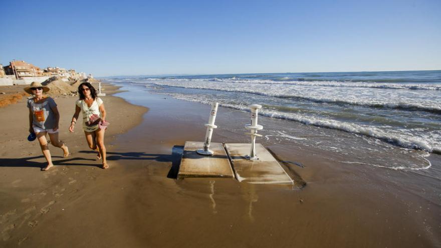 Después de la tormenta... toca recomponer las playas