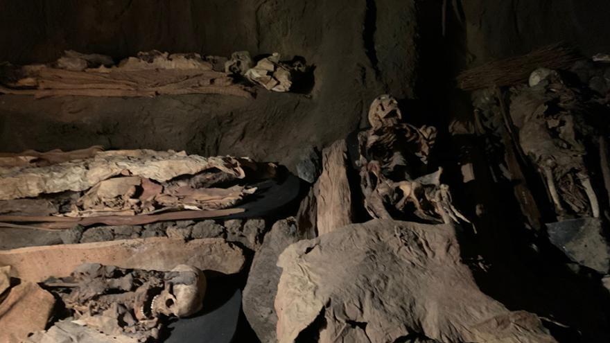 El Museo Canario se asoma a las prácticas funerarias de los antiguos canarios