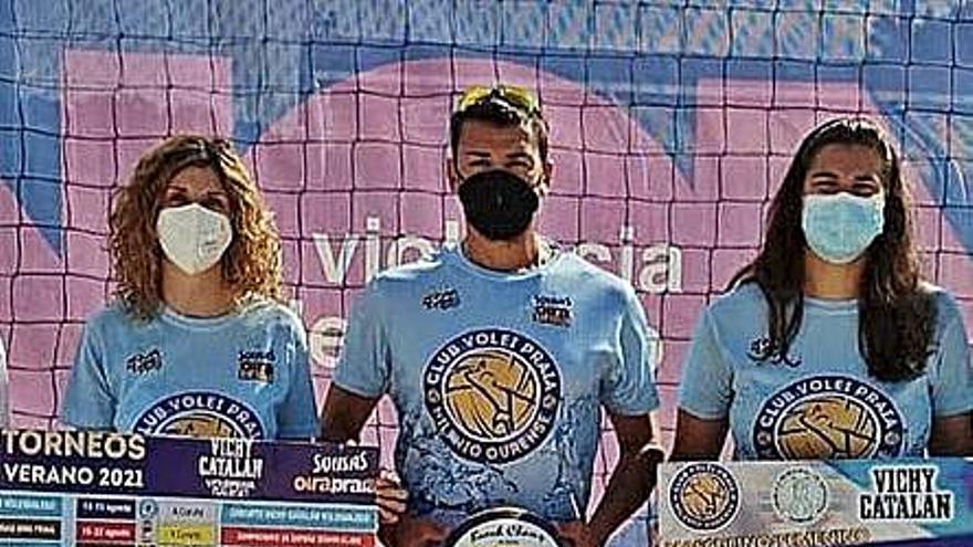 Volei Praia Milenio organiza el Torneo Circuito Oira Praia