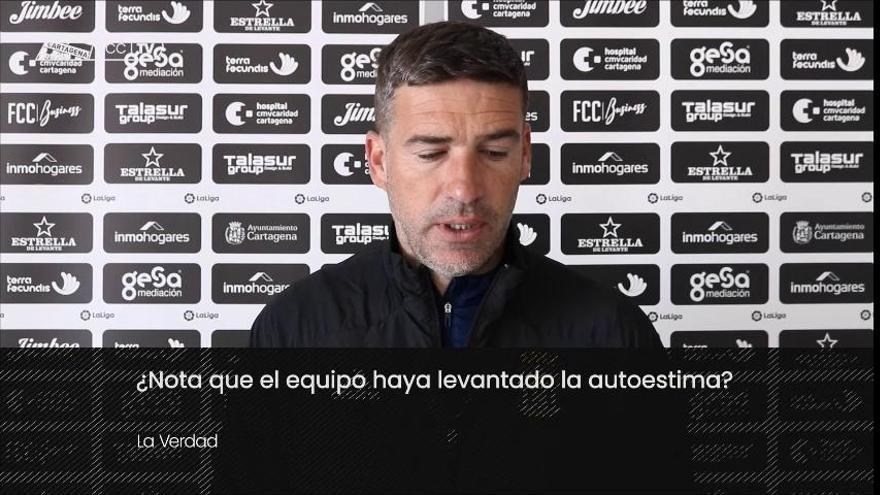 """Luis Carrión: """"Los nuevos están preparados para jugar el lunes"""""""