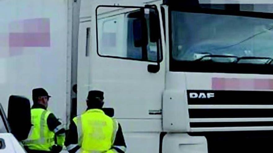 El camionero borracho se queda sin carnet