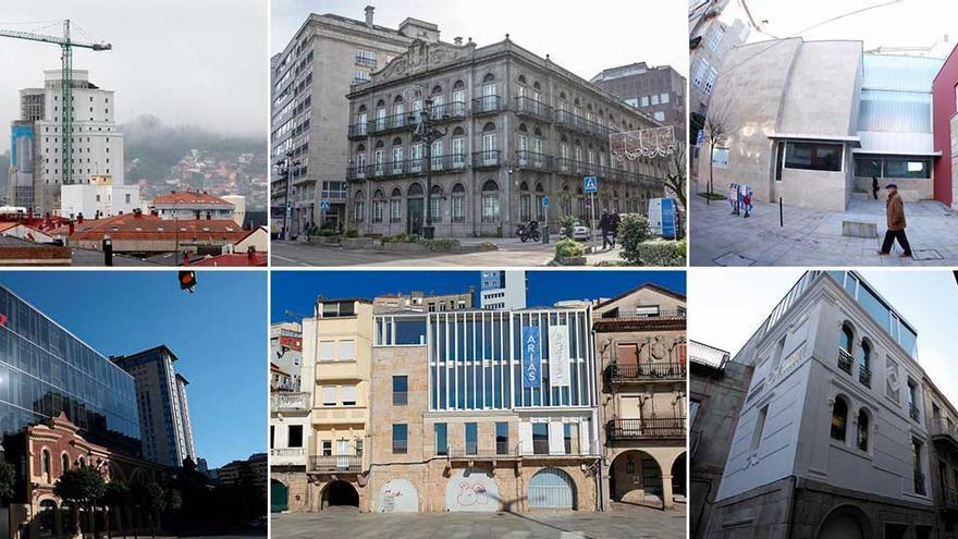 Mudanzas con historia: las instituciones apuestan por edificios singulares de Vigo